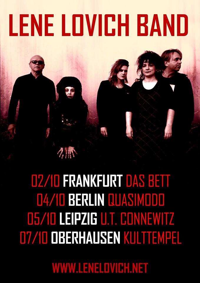 The Lene Lovich Band poster 2017