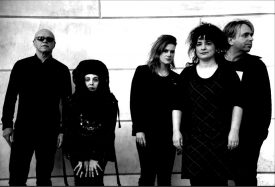 Lene with her band