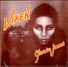 Gloria Jones' Vixen album cover