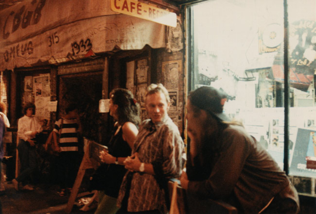 More Comfortable Outside CBGB's