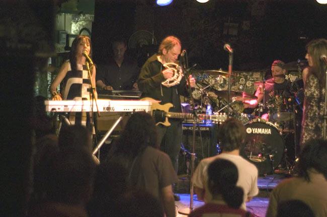 At CBGB's, 2006