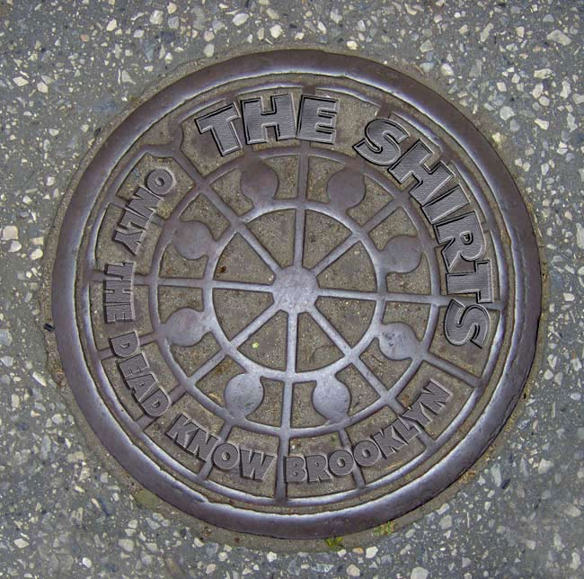 Manhole Cover Seen In Sunset Park…