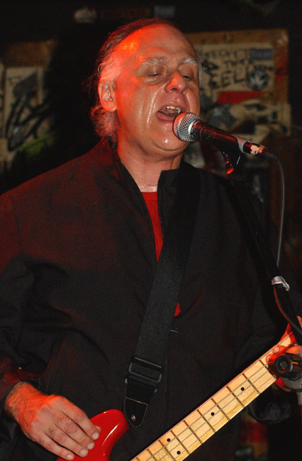 At CBGB's, November 2004