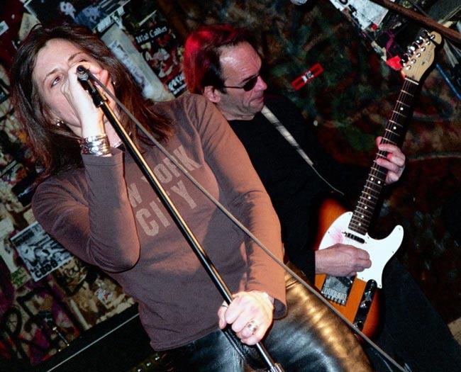 At CBGB's January 2005