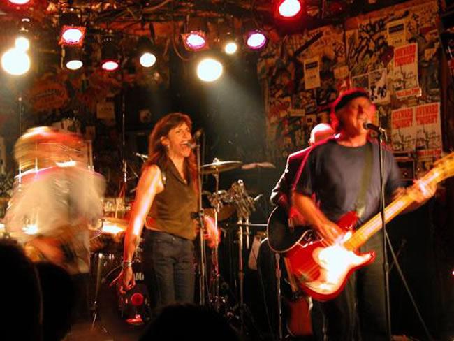 At CBGB's, May 31 2003