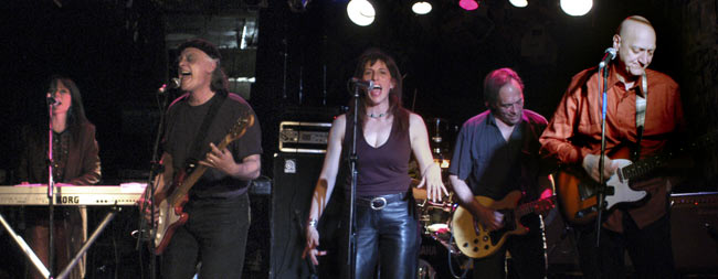 Onstage at CBGB's November 2005