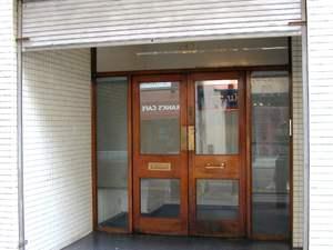 The Roxy's door, 25 years on