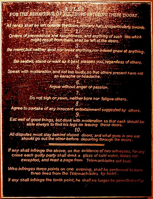 The Contessa's Rules 7