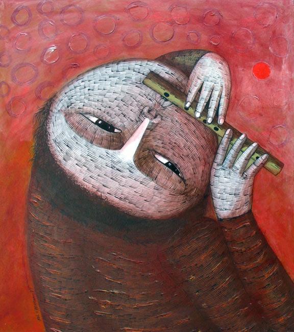 Felix Berroa: Flautista