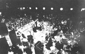 Pierre Boulez recording Bartok's Concerto for Orchestra with the New York Philharmonic.