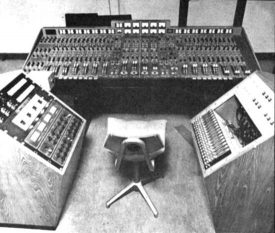 EMI's Quadraphonic remix room, Abbey Road, 1974