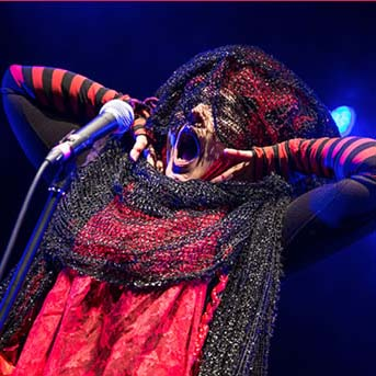 Lene  Lovich performing in Leipzig, 2016