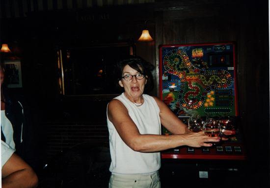 Sandra, the landlady