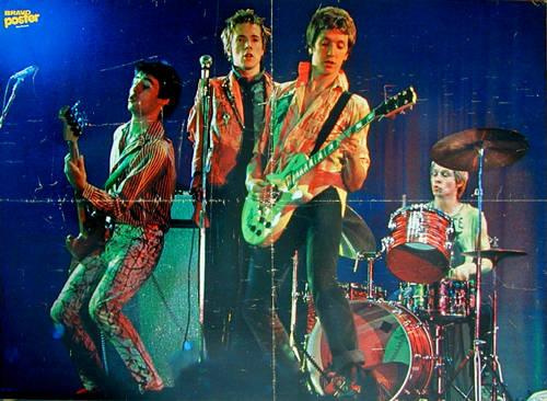 The Sex Pistols performing, photo: Bravo Magazine, Germany 1976