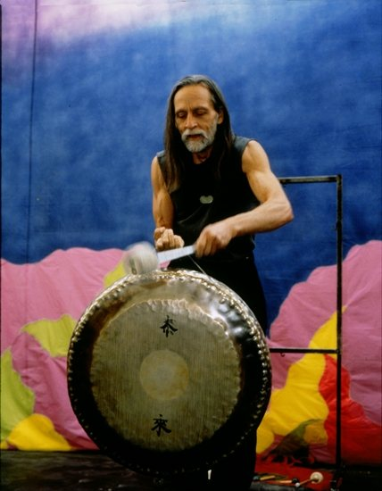 The gong as drum